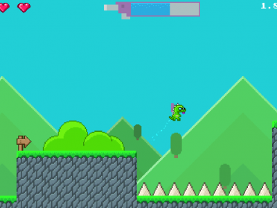 Super Jetpack Lizard Release