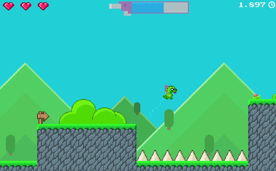 Super Jetpack Lizard