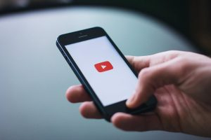 Watching YouTube on Phone